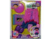 American Baby Company 150D-BL Percale Crib Bumper (Blue Dot) (American Baby Company: 656173150105)