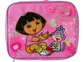 Dora the Explorer with boots Butterfly lunch box (Nickelodeon: 693186225833)