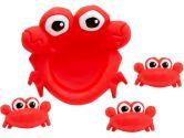 Lamaze Crabby Babies Bath Buddies (Lamaze: 796714275000)