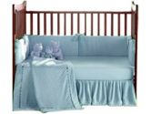Heavenly Soft Crib Bedding - color: Blue (Baby Doll: 009243011071)