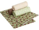 Carter's Wrap Me Up Receiving Blanket, Monkey, 4-Pack (Carter's: 789887505999)