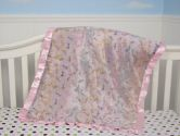 New Boutique Pink Dragonflies Silky Baby Blanket ** FREE SHIPPING** (SoHo Designs: 682510070393)