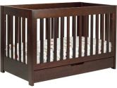 Babyletto Mercer 3 in 1 Convertible Wood Crib in Espresso (Babyletto: 048517007389)