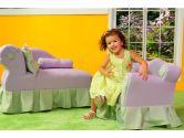 Fantasy Furniture Princess Chaise, Pink (Fantasy Furniture: 878032001742)