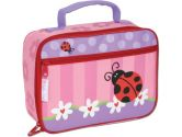 Stephen Joseph Lunch Box, Ladybug, Multicolored, 10-Inch x 7.5-Inch x 3-Inch, 1-Pack (Stephen Joseph: 794866512608)