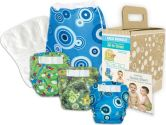 Bumkins Diaper Bundle 3-Pack - Boy, Medium (Bumkins: 014292967828)