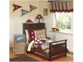 All Star Sports Toddler Bedding 5 pc set by Sweet Jojo Designs (Sweet Jojo Designs: 810519018386)