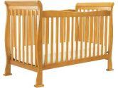 Da Vinci Reagan 4-in-1 Convertible Wood Crib w, Toddler Rail in Oak (Da Vinci: 048517008706)