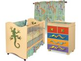Room Magic RM122-LL Nursery Set, Little Lizard Natural (Room Magic: 890400002762)