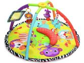 Infantino Twist and Fold Gym, Baby Animals, 1-Pack (Infantino: 773554065398)