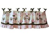 My Baby Sam Baby Love Curtain Valance, Pink (My Baby Sam: 690895281600)