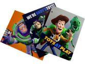 Toy Story 3 Hole Variety Folders - Disney Toy Story Stationery Supplies Portfolio Folders (3 Pieces) (Disney: 079522551420)