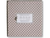 Swaddledesigns Ultimate Receiving Blanket Brown Circle On Circles, Pink (SwaddleDesigns: 810284010745)