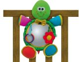 Edushape Turtle Shaped Soft Mirror Crib Toy (Edushape: 608618972032)