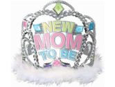 New Mom to Be Tiara (Factory Card and Party Outlet: 048419745204)