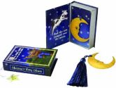 96PC 14028NA Over The Moon Vintage Moon Bookmark Tassel Keepsake Book Box Weddin (Kateaspen: 843905062434)