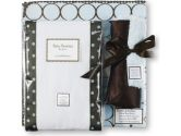 SwaddleDesigns 3-Piece Gift Set, Brown Mod Circles, 1 Pack (SwaddleDesigns: 810284010455)