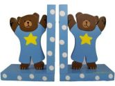 Baby Blue Teddy Bear Bookends (Tatutina: 064705258678)