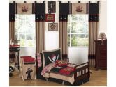 Treasure Cove Pirate Toddler Bedding 5 pc set by Sweet Jojo Designs (Sweet Jojo Designs: 810519012834)