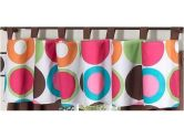 Modern Deco Dot Window Valance by Sweet Jojo Designs (Sweet Jojo Designs: 846480005162)