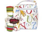 Trend Lab 30106 Dr Seuss Abc Bouquet Set- Bottle Bag And 4 Pack Of Burp Cloths. (Trend Lab: 846216013478)