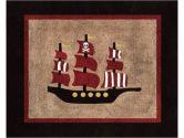 Treasure Cove Pirate Accent Floor Rug by Sweet Jojo Designs (Sweet Jojo Designs: 846480007777)
