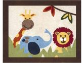 Jungle Time Accent Floor Rug by Sweet Jojo Designs (Sweet Jojo Designs: 846480008248)