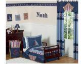 Nautical Nights Boys Sailboat Toddler Bedding 5 pc set by Sweet Jojo Designs (Sweet Jojo Designs: 846480001966)