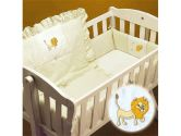 Yellow Lion Cradle Bedding: Size 15x33 (Ababy: 009243029182)