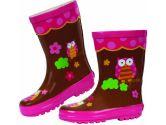Stephen Joseph Rain Boot, Owl, 9, Brown, 1-Pack (Stephen Joseph: 794866376767)