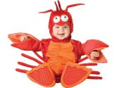 Lil Characters Unisex-baby Newborn Lobster Costume, Red/Orange, Small (Incharacter: 843269014148)