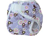 Thirsties Diaper Cover - Extra Small - Baby Bird Lavender (Thirsties: 812087012377)