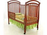 Dream On Me Bentwood Tuscany 3 in 1 Convertible Crib, Cherry (Dream On Me: 832631002548)