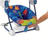 Fisher-Price Ocean Wonders Space Saver Swing and Seat (Fisher-Price: 027084868746)