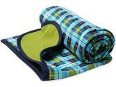 Zutano Infant Baby-Boys O'Reilly Check Blanket, Multi, One Size (Zutano: 754155327559)