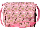 Wildkin 47020 Classic Wildkin Collection - Horses in Pink Diaper Bag (Unknown: 097277470209)