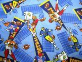 SheetWorld Crib / Toddler Sheet - Football - 28 inches x 52 inches (71.1 cm x 132.1 cm) - Made In USA (sheetworld: 677726402458)