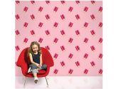WallCandy Arts Twin Pops Wallpaper, Pink (WallCandy Arts: 814217010437)