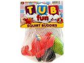 Baby Toy Tub Fun Squirt Buddies 12.7 cm X 18 cm (6-Pack) (JaRu: 741655478959)