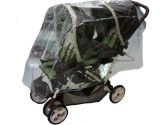 Sasha Kiddie RW-105 Tandem Stroller Rain and Wind Cover - Stroller Not Included (Sashas Kiddie Products: 685397000972)