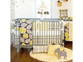 Brea 4 Piece Crib Bedding Set by Glenna Jean (Glenna Jean: 763872102400)