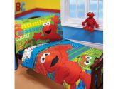 Sesame Street- Abc 123 4-Pc Toddler Bedding Set (Sesame Street: 085214065823)