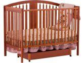 Stork Craft 04550-65C Hollie Fixed Side Convertible Crib (Cognac) (Stork Craft: 056927080595)