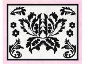Pink and Black Sophia Accent Floor Rug by Sweet Jojo Designs (Sweet Jojo Designs: 846480007906)