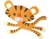 Fisher-Price- Rainforest Friends Tiger Wallhanging (Fisher-Price: 085214053813)