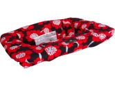Balboa Baby Shopping Cart Cover in Red Poppy (Balboa Baby: 811499011299)
