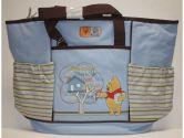 Disney Winnie The Pooh Large Diaper Bag Blue (Disney: 632878001737)