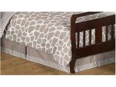 Giraffe Neutral Bed Skirt for Toddler Bedding Sets by Sweet Jojo Designs (Sweet Jojo Designs: 846480013082)