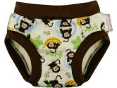 Blueberry Training Pants, Monkeys, Small (Blueberry Diapers: 812016014892)