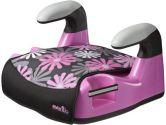 Evenflo Amp Graphics No Back Car Seat Booster, Retro Flowers (Evenflo: 032884173389)